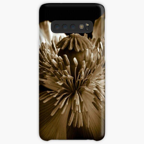 Sepia Poppy Samsung Galaxy Snap Case