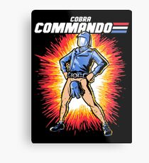 Cobra Commando Metal Print