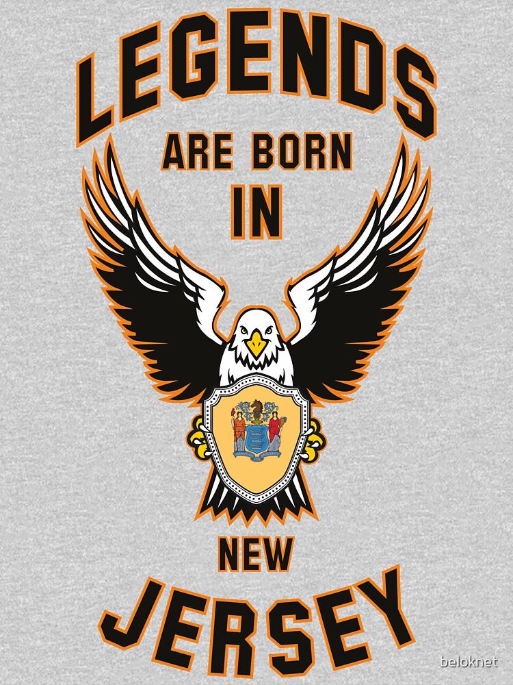 Legends are born in New Jersey by beloknet