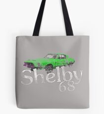 Shelby 68 (Vintage Style/Worn) Tote Bag