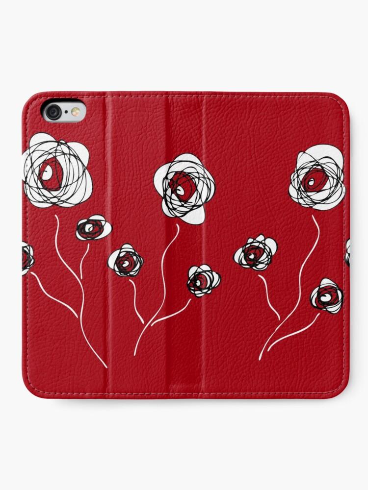 Alternate view of Ranunculus iPhone Wallet