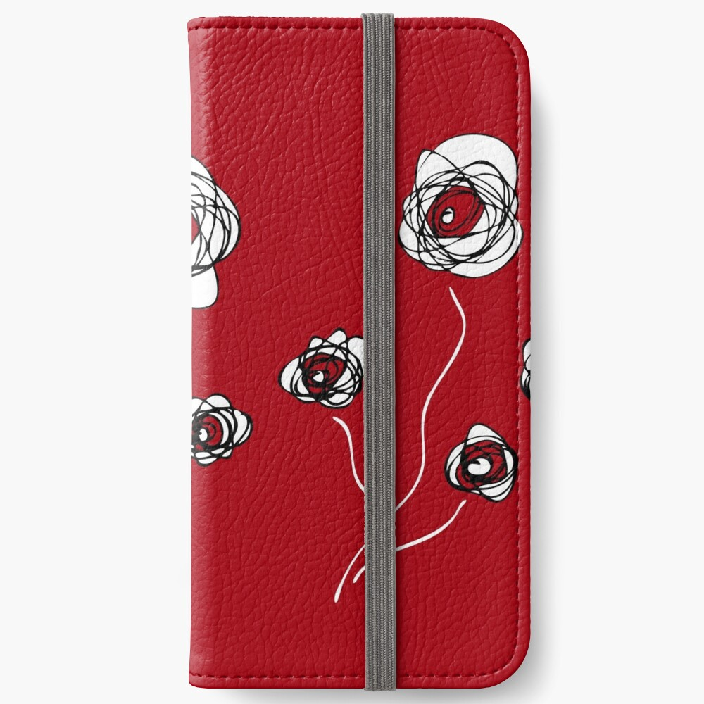 Ranunculus iPhone Wallet