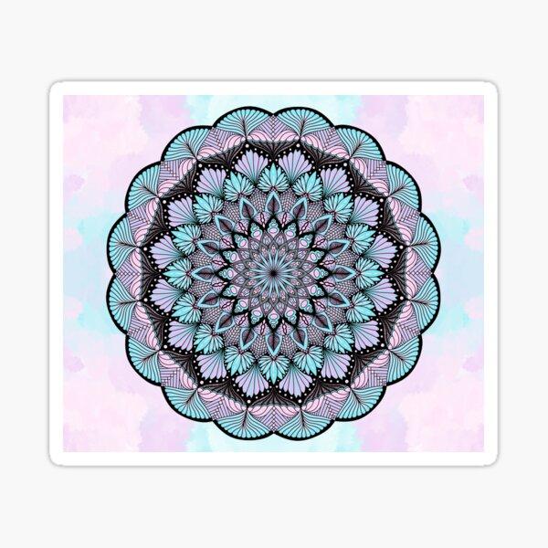 Pastel Cotton Candy Sticker