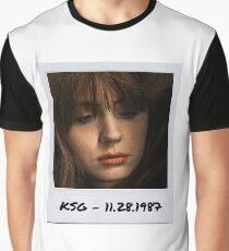Karen Gillan Polaroid Edit Graphic T-Shirt