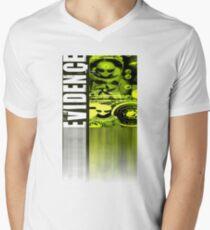 evidence Mens V-Neck T-Shirt