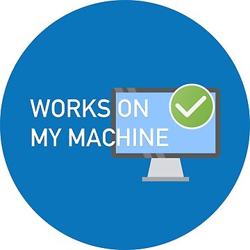 Works on my machine by cdmike