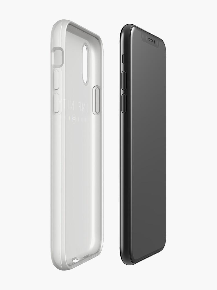 Vista alternativa de Vinilos y fundas para iPhone Infinity - Blanco limpio