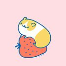 Hamster with Strawberry #1 by zoel