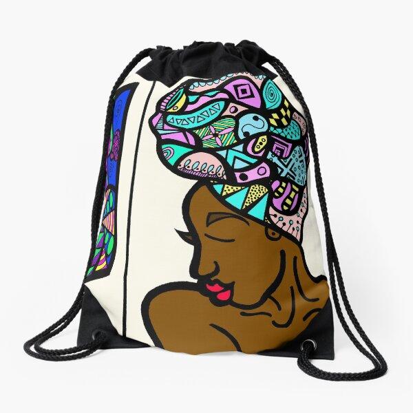 Melanin Drawstring Bag