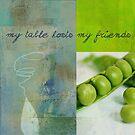 Triloli Kitchen Decor - Green Tx51  by Aimelle