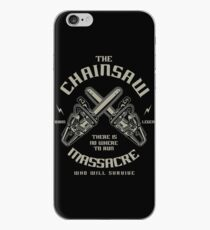 The Chainsaw massacre film iPhone Case