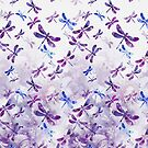 Ultraviolet Purple - Dragonfly Lullaby by kreistyle