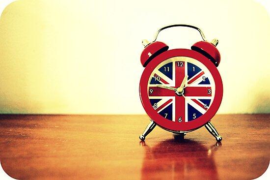 London Time by Gillian Villa