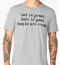 God is Great  Men's Premium T-Shirt
