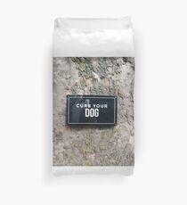 Funda nórdica Signo: encinta tu perro