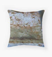 Almond Slice Throw Pillow