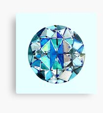 Diamond manda Metal Print