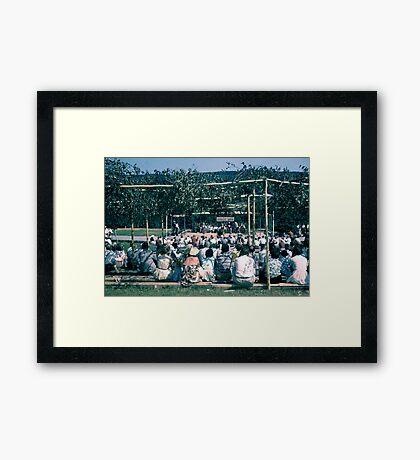 Gaelic Mod-1957 Framed Print