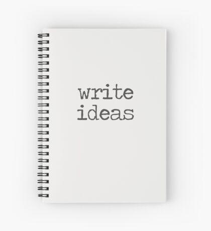 Write Ideas Spiral Notebook