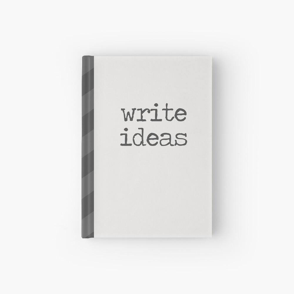 Write Ideas Hardcover Journal