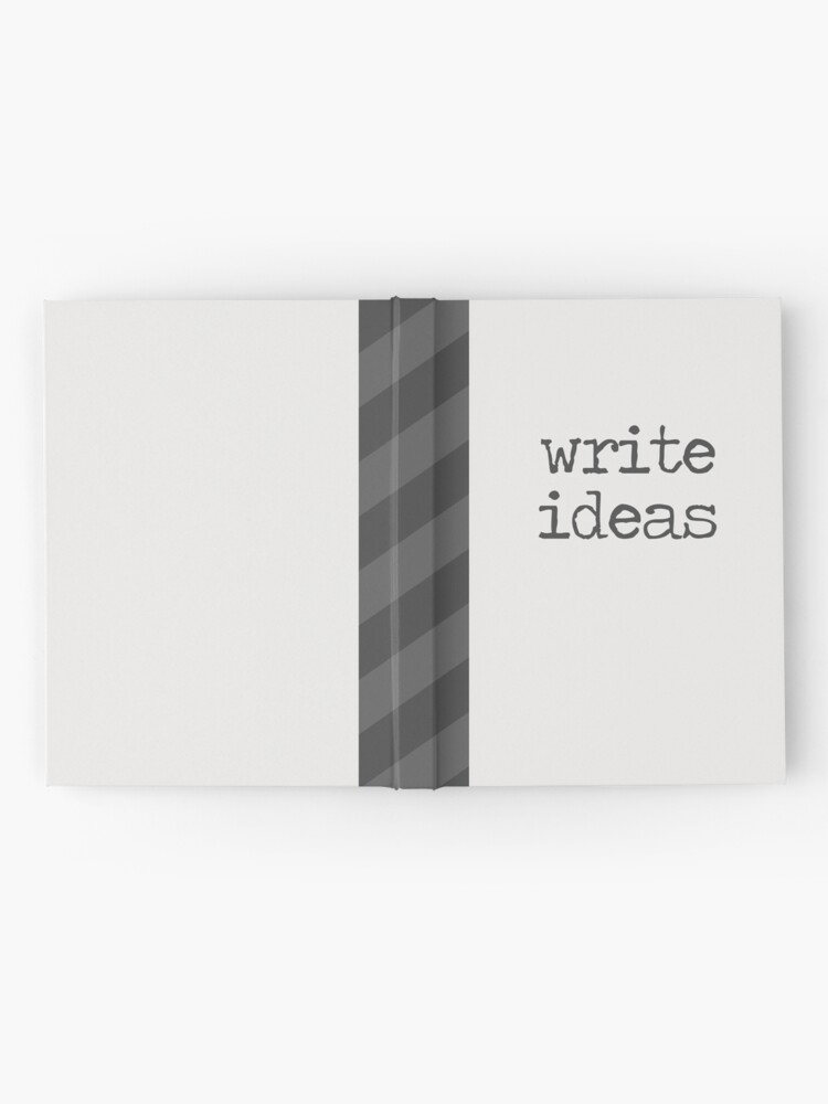 Alternate view of Write Ideas Hardcover Journal