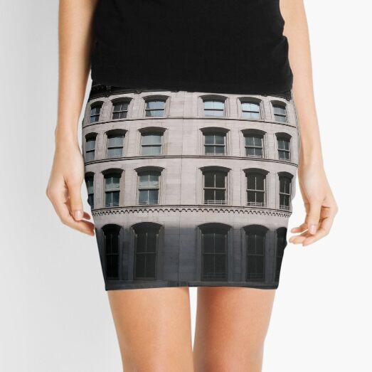 Apartment, New York, Manhattan, New York City, Skyscraper, tower block, high rise building, tower, block, high rise, building Mini Skirt