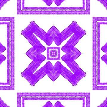 Purple Drawn series 2 by Emerlamb