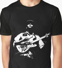 Camiseta gráfica Guitarrista oscuro