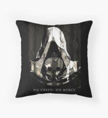NO CREED, NO MERCY Throw Pillow