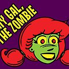 My Gal, the Zombie- Cartoon Face by CrazyGoodConner