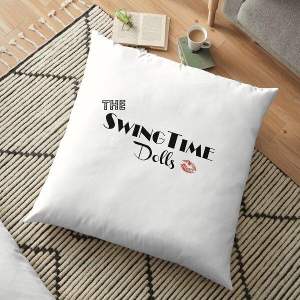 Official SwingTime Dolls Logo Floor Pillow
