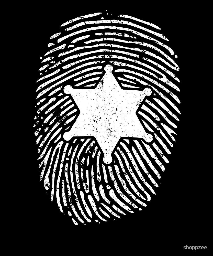 Deputy Sheriff Shirt DNA 6 Star Deputy Sheriff Badge by shoppzee