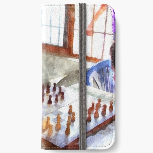 Chess players iPhone Wallet