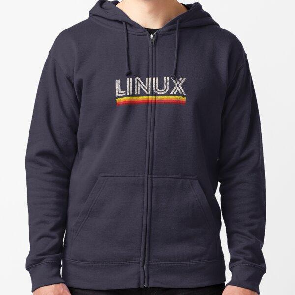 Linux Zipped Hoodie