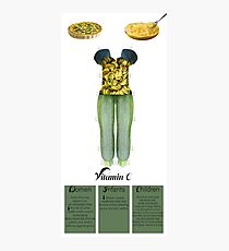 The Paper Doll Project: Zucchini Pants Photographic Print