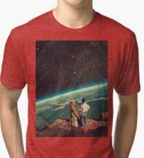Camiseta de tejido mixto Amor