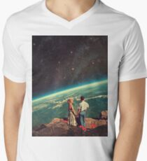 Liebe T-Shirt mit V-Ausschnitt