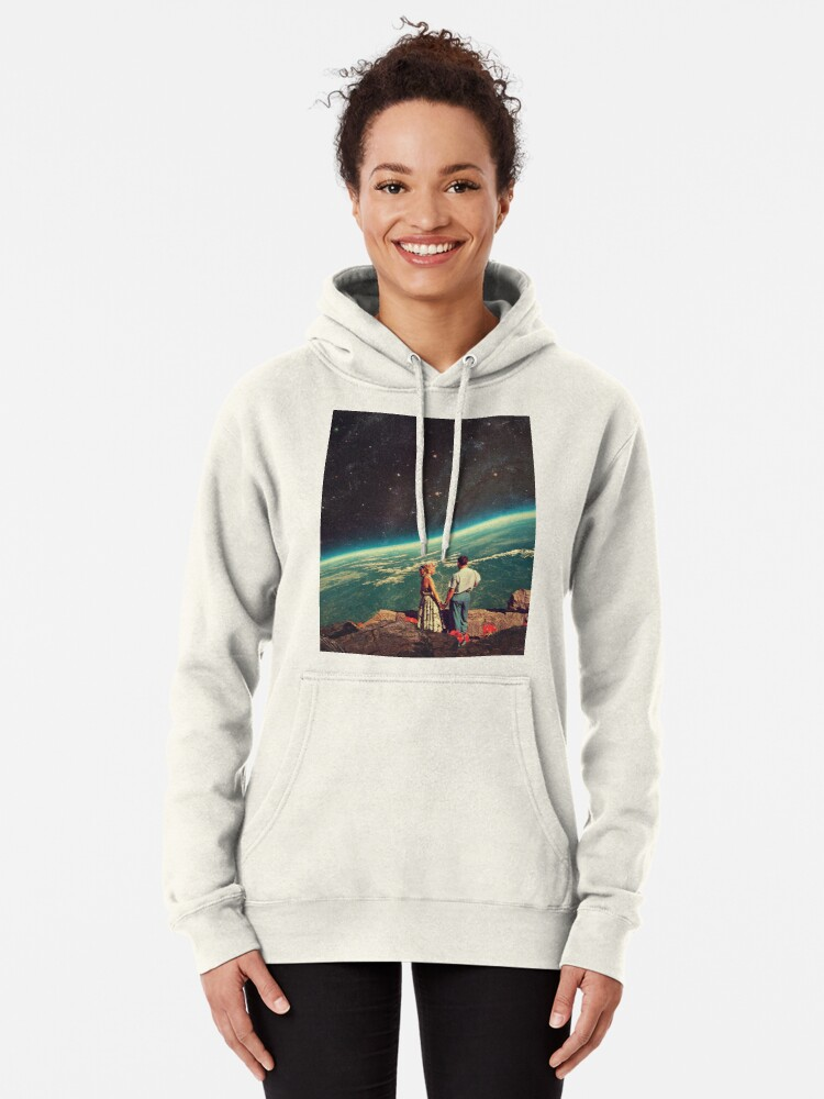 Alternate view of Love Pullover Hoodie