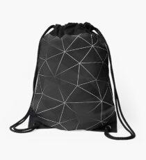 Kintsugi - Silver Mesh Drawstring Bag