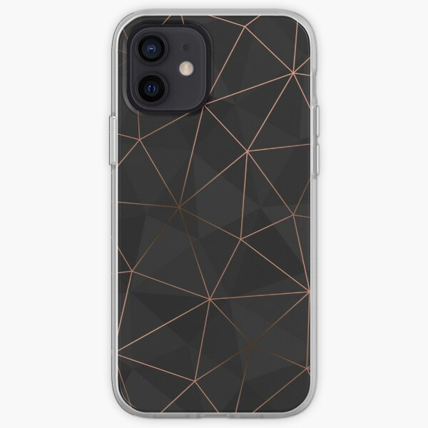 Kintsugi - Rose Gold Mesh iPhone Soft Case
