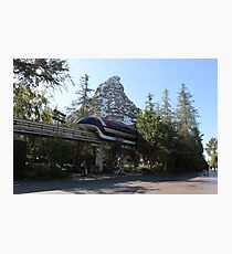 Take a ride on the Monorail Photographic Print