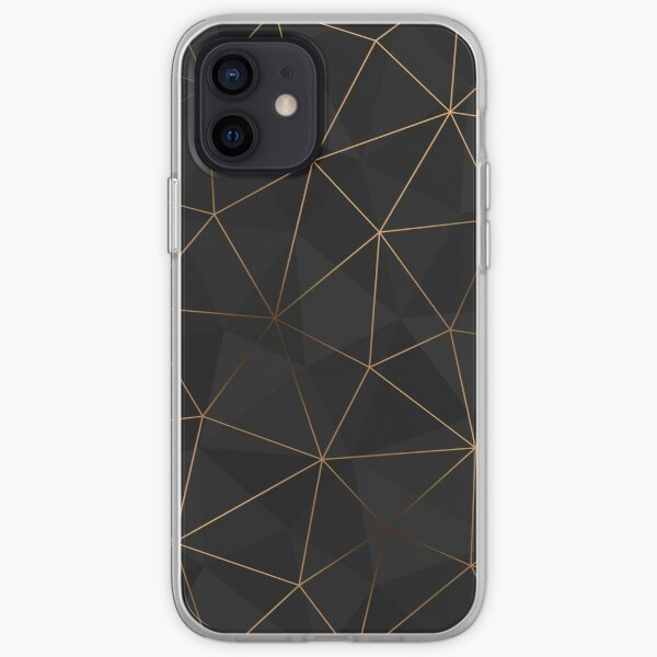 Kintsugi - Gold Mesh iPhone Soft Case