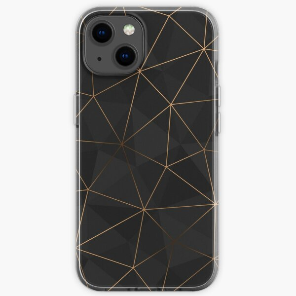 Kintsugi - Gold Mesh iPhone Soft Case