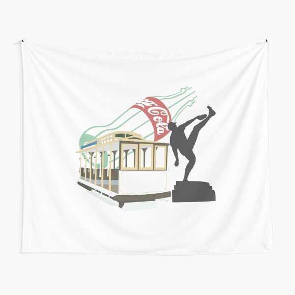 AT&T Park Tapestry