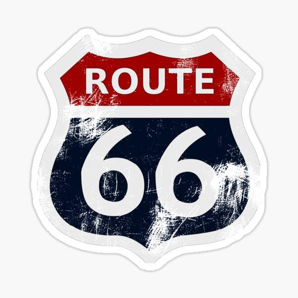 Route 66 Ma version Sticker