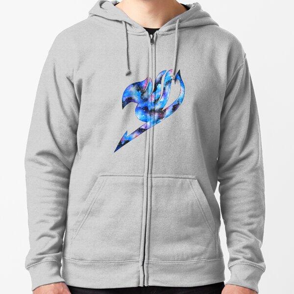 logo de queue de galaxie fée Veste zippée à capuche