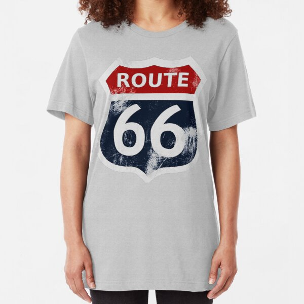 Route 66 My version Slim Fit T-Shirt