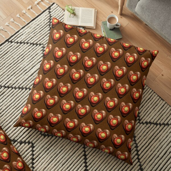 Say It With Chocolate Floor Pillow