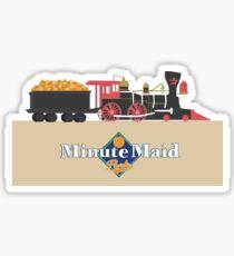 Minute Maid Park Train Sticker
