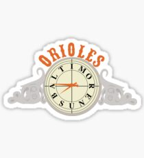 Orioles Clock Sticker